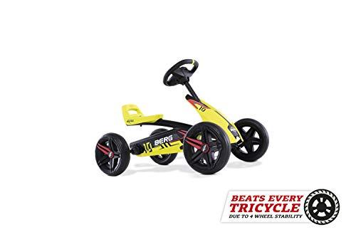 BERG Gokart Buzzy Aero | Kinderfahrzeug, Tretauto, Sicherheid und Stabilität,...