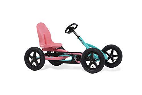 BERG Pedal-Gokart Buddy Lua | Kinderfahrzeug, Tretfahrzeug mit hohem...