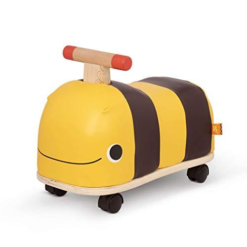 B. toys Rutschauto aus Holz – Rutscher Biene auf Rollen für Kinder und Babys,...