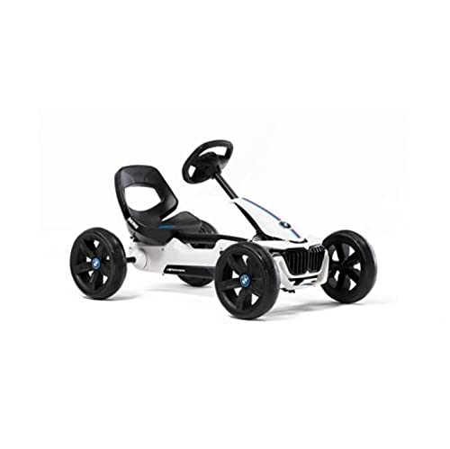 BERG Pedal-Gokart Reppy BMW mit Soundbox | KinderFahrzeug, Tretfahrzeug mit...
