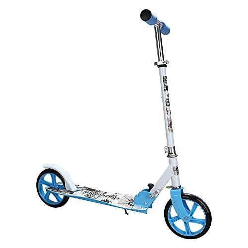 EINFEBEN Kinder Scooter klappbar Höhenverstellbar mit 205mm Big Wheels Mädchen...