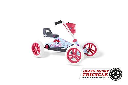 BERG Gokart Buzzy Bloom | Kinderfahrzeug, Tretauto, Sicherheid und Stabilität,...
