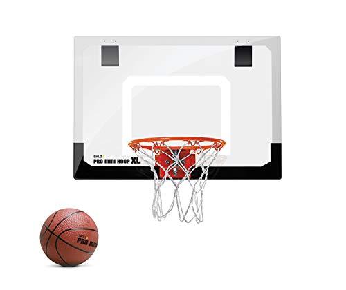 SKLZ Pro Mini Basketballkorb fürs Zimmer mit Ball, Basketball Training, Mini...