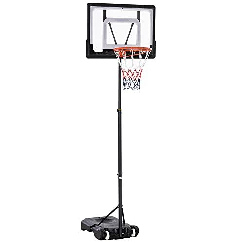 HOMCOM Basketballständer höhenverstellbar Basketballanlage für Kinder...