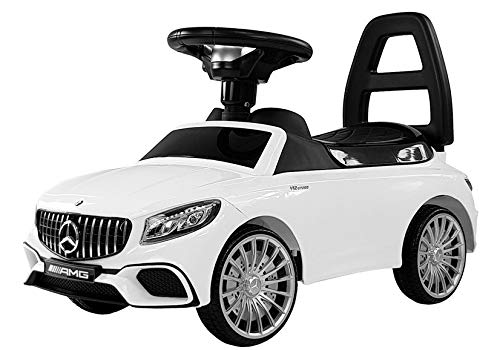 COIL Mercedes-Benz S AMG 65 Rutschauto LED Rutscher Kinderfahrzeug Kinderauto...