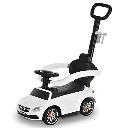 HOMCOM Rutschauto Rutscher Kinderauto von Mercedes Benz Kinderfahrzeug Schub-...