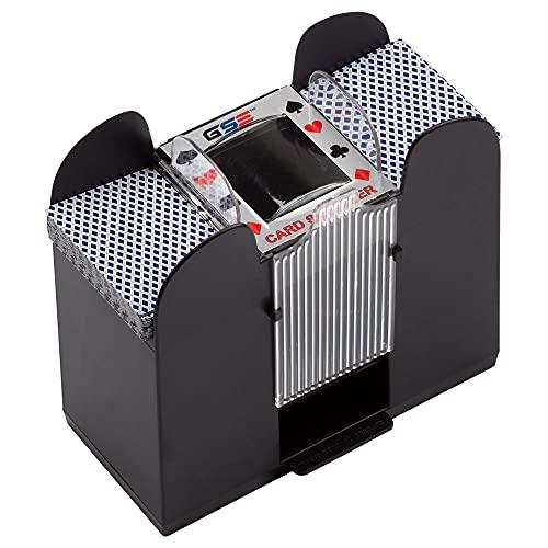 Casino Automatischer Kartenmischer, batteriebetrieben, für Blackjack und...