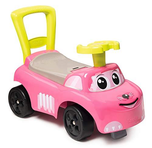 Smoby 720524 Mein erstes Auto Rutscherfahrzeug, Kinderfahrzeug mit Staufach und...