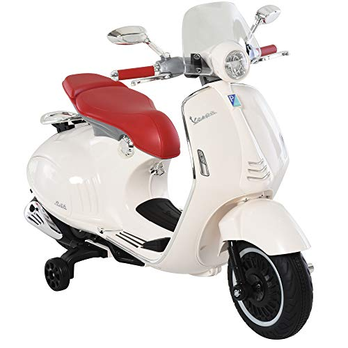 HOMCOM Elektrofahrzeug, Kinderfahrzeug, Kindermotorrad, Elektro-Motorrad mit...
