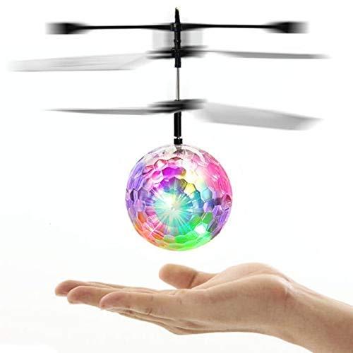 Egosy RC Fliegender Ball, Fliegendes Spielzeug RC Drone Hubschrauberkugel mit...