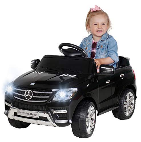 Kinder Elektroauto Mercedes ML 350 Original Lizenz Auto 2X 25 Watt Motor...