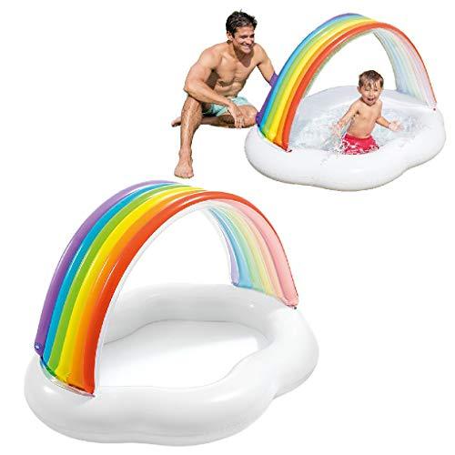 BabyPool Regenbogenwolke