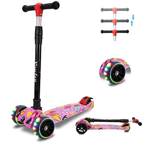 Youfen Kinder Roller Scooter - Kinderscooter für Mädchen und Jungen 2 Jahren,...