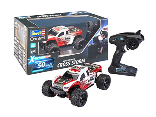 Revell Control 24830 X-Treme schneller RC Truggy Cross Storm, 2.4 GHz,...