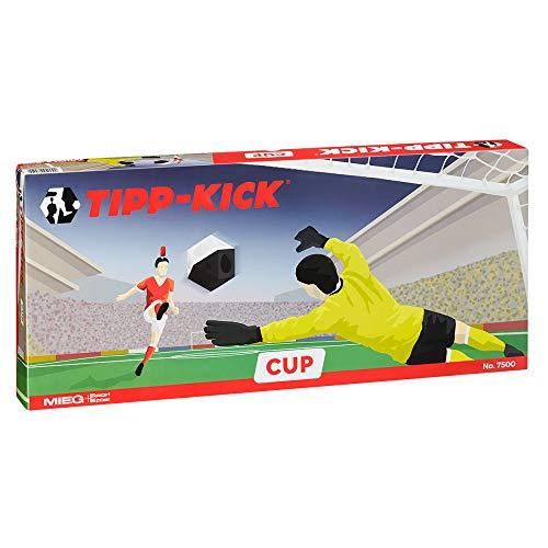 TIPP-KICK Cup 108x71 cm mit Bande – Das spielfertige Set mit 2X Spieler, 2X...