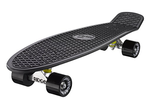 Ridge Skateboard 69 cm 27 Inch Nickel Cruiser Retro Stil M Rollen Komplett...
