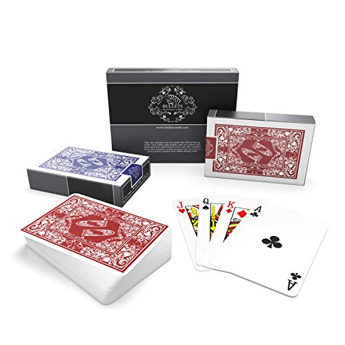 Bullets Playing Cards wasserfeste Plastik Spielkarten - Bridge Size - Standard...