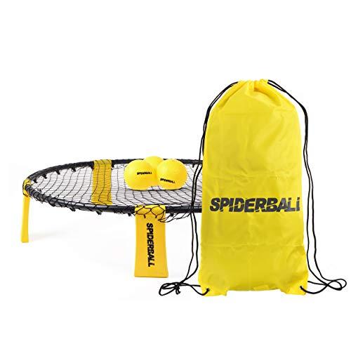 Ocean 5 Spiderball Set, Ball-Spiel mit Netz, 3 Bällen und Tragetasche - zum...