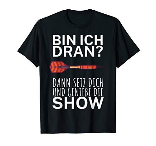 Dart Shirt Show Profi Lustiger Spruch für Dartspieler T-Shirt