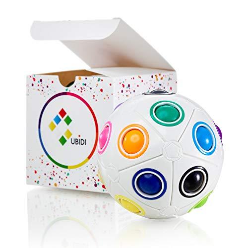 CUBIDI® großer Regenbogenball mit 19 Kugeln - Geschicklichkeitsspiel -...