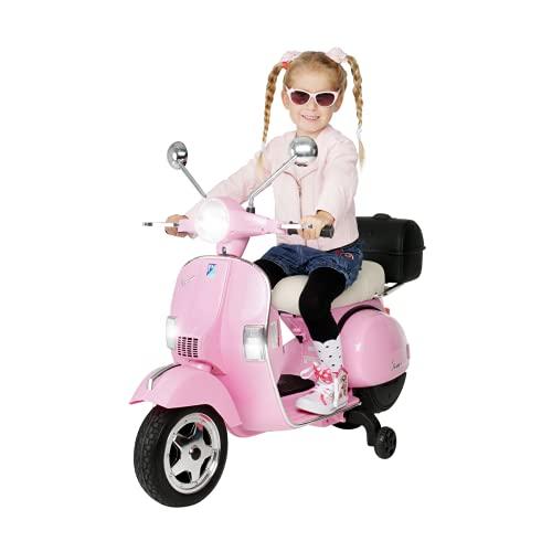 Actionbikes Motors Kinder Elektroroller Vespa PX150 - Lizenziert - 2x18 Watt...