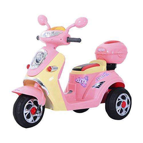 HOMCOM Elektro Kindermotorrad Elektromotorrad Kinderelektroauto Kinderfahrzeug...