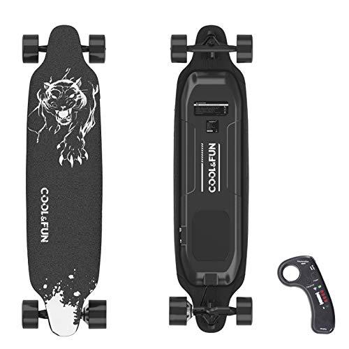 HITWAY Elektro-Skateboard, Allrad-Skateboard mit Fernbedienung,...