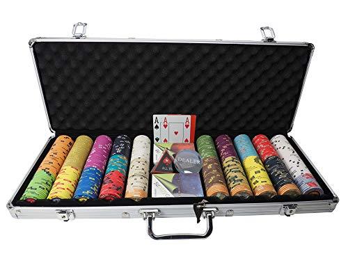 Suplaya Pokerkoffer mit Keramikchips