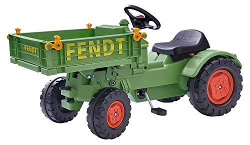 BIG spielwarenfabtik 800056552 BIG - Fendt Geräteträger - Kindertraktor,...