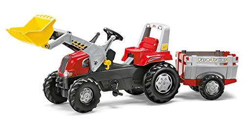 Rolly Toys 811397 rollyJunior RT   Traktor mit Frontlader   Lader und Anhänger...