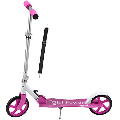 ArtSport Scooter Cityroller Big Wheel 205mm Räder klappbar & höhenverstellbar...