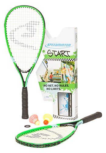 Speedminton Unisex Start - Original Speed Badminton/Crossminton Starter...