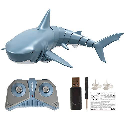 Goolsky Mini RC Shark Fernbedienung Spielzeug Schwimmspielzeug Unterwasser RC...