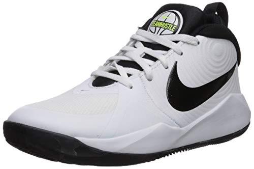 Nike Unisex Kinder Team Hustle D 9 (Gs) Basketballschuhe, Weiß White Black Volt...