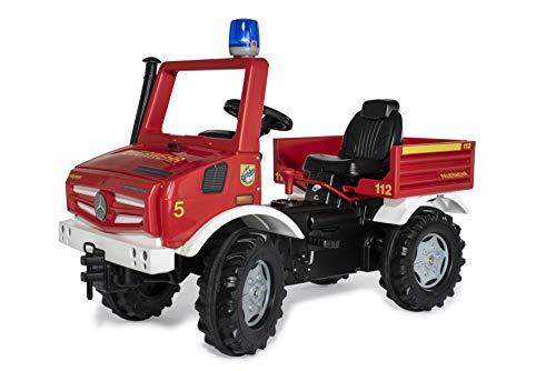 Rolly Toys 038220 rollyUnimog FIRE Edition 2020 (Kinderunimog, Tretfahrzeug) -...