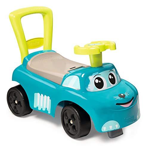 Smoby 720525 Mein erstes Auto Rutscherfahrzeug, Kinderfahrzeug mit Staufach und...