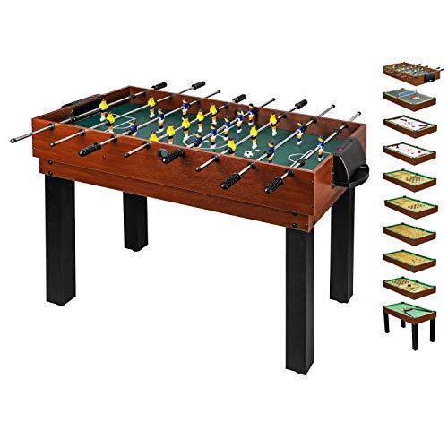 10 in 1 Multifunktionstisch für die ganze Familie - Multigame Spieltisch...