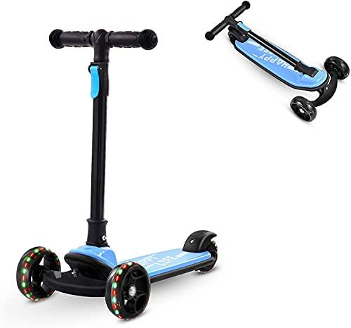Bellanny Kinder Roller Tretroller Kinderroller mit LED Räder, ab Vorschulalter,...