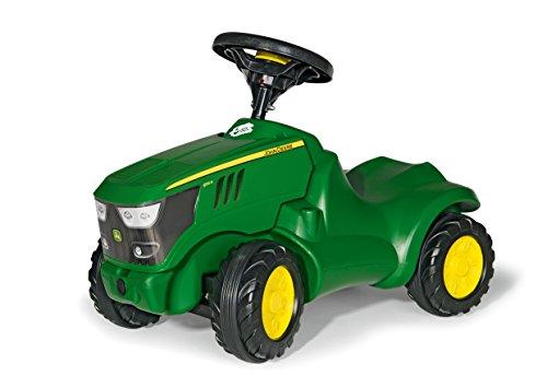 Rolly Toys 132072 Traktor Minitrac John Deere 6150R, Babyrutscher, Motorhaube...