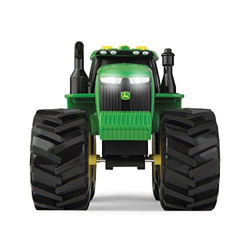 John Deere 46656 Traktor, Monster Treads mit Licht & Sound in Grün, Spielzeug...