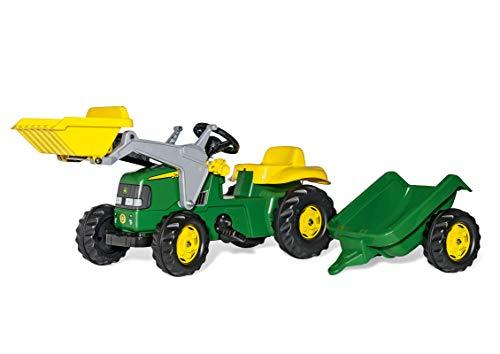 rolly toys   rollyKid John Deere   Kinder Trettraktor mit Frontlader und...