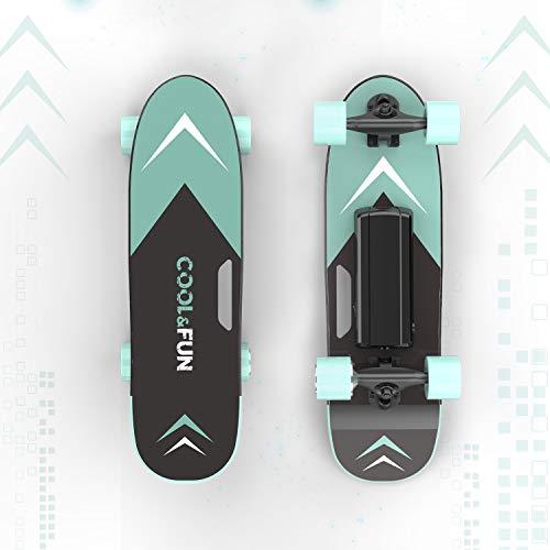 HITWAY Elektro-Skateboard mit Fernbedienung, 150 W Moter Max. Geschwindigkeit 15...