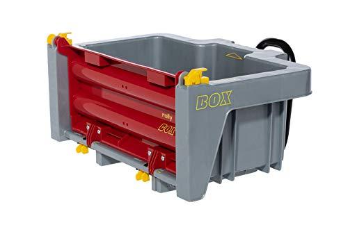 Rolly Toys rollyBox Traktoranhänger (Kippfunktion, Farbe grau/rot, für Kinder...