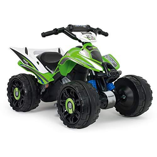 INJUSA - Kawasaki Quad ATV 12V mit Rückwärtsgang und elektrischer Bremse für...