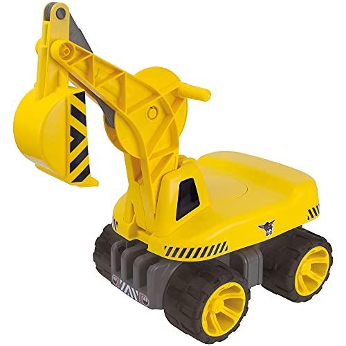 BIG - Power-Worker Maxi-Digger - Kinderfahrzeug, geeignet als Sandspielzeug und...