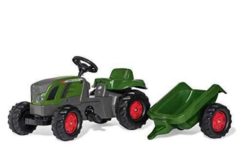 Rollykid 01/316/6 Toys rollyKid Fendt 516 Vario Trettraktor (mit Anhänger,...