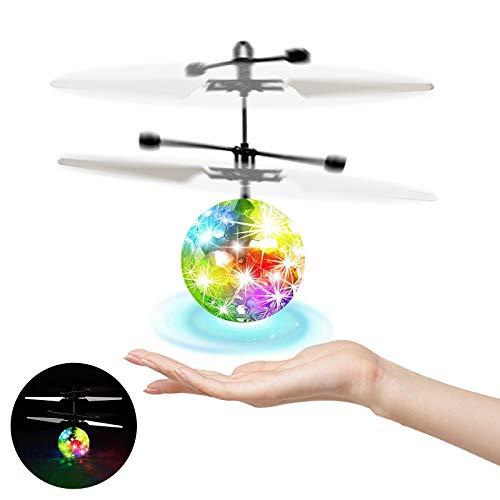UTTORA RC Fliegender Ball,Fliegendes Spielzeug RC Mine Drohne Infrarotsensor...