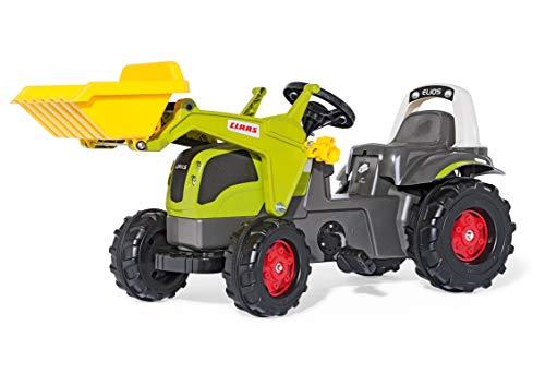 Rolly Toys S2602507 rollyKid CLAAS Elios Trettraktor (für Kinder von 2,5 bis 5...