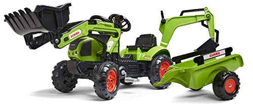 Falk–2040N–Outdoor-Spielzeug–Baggerlader Claas Arion 410+...