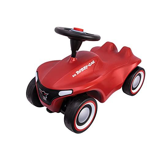 BIG-Bobby-Car-Neo Rot - Rutschfahrzeug für drinnen und draußen, Kinderfahrzeug...